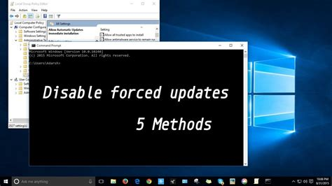 how to disable windows 10 update how to disable windows 10 forced updates 5 different methods