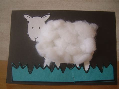 sheep crafts for preschool crafts for easy sheep card
