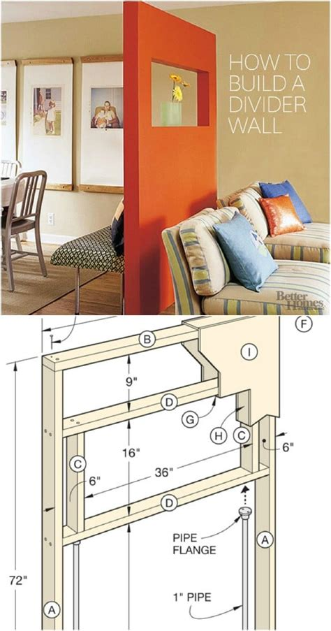 maximize space tv wall diy ideas 16 ways to maximize space with room dividers style motivation