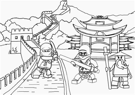 ninjago samurai coloring page free coloring pages of ninjago coloring home
