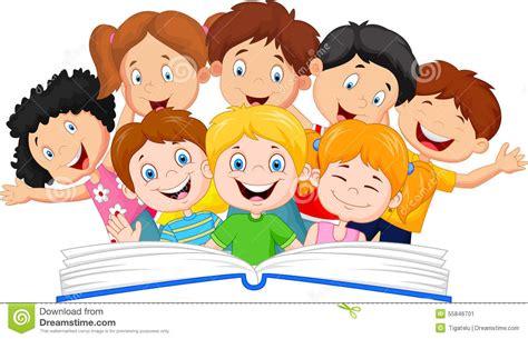 libro the child in time livro de leitura da crian 231 a dos desenhos animados ilustra 231 227 o do vetor 55846701