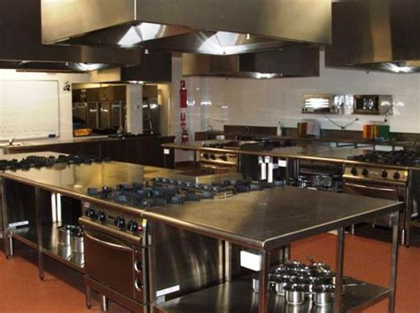 professional kitchen concept a commercial kitchen in a residential space