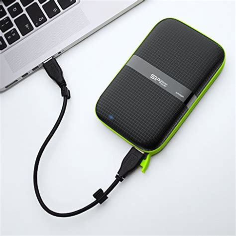 Silicon Power Rugged by Silicon Power 1tb Rugged Armor A60 Grade Import It All