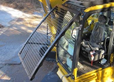 front window guard excavator paladin attachments