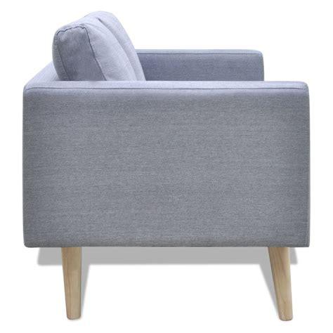 divano 2 posti tessuto articoli per divano in tessuto a 2 posti grigio chiaro