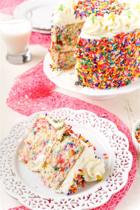best white birthday cake recipe funfetti birthday cake sugar soul