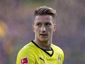 soccer haircut steps reus will recover in time for dortmund juventus return leg