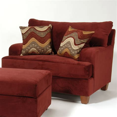 Living Room Chairs And Ottomans Chairs With Ottomans For Living Room Homesfeed