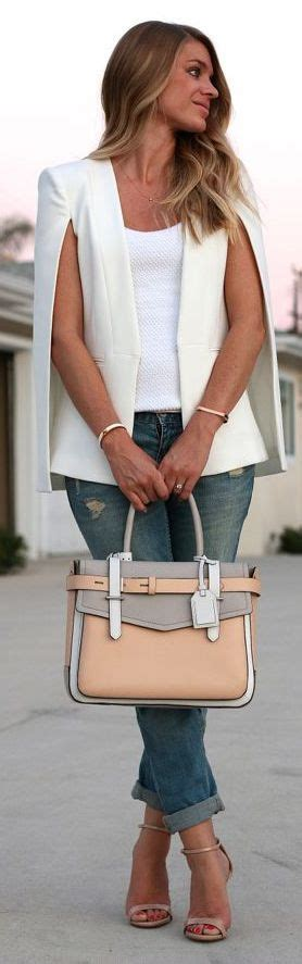 white blazer neutral colored tank black jeans pants best 25 blazer with jeans ideas on pinterest blue and
