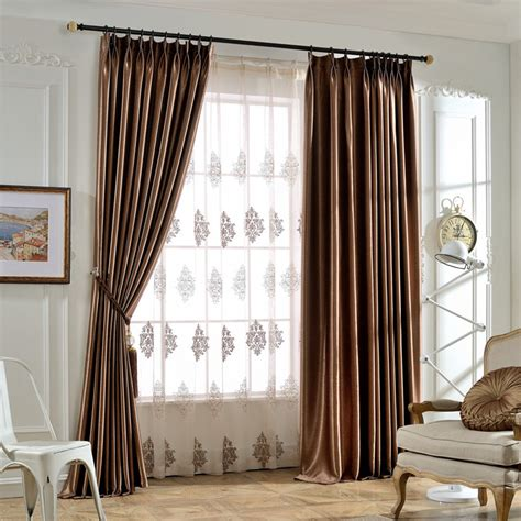 style of curtains for bedroom solid color blackout curtains finished living room bedroom