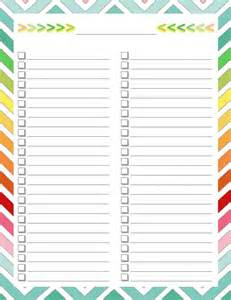 list templates printable 25 best ideas about checklist template on