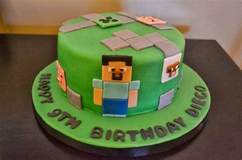 pastel decorado minecraft cakes by liz minecraft cake