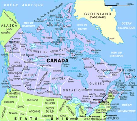 canada country map www mappi net maps of countries canada