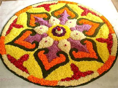 Ugadi Decorations At Home by Onam Pookkalam Onam Pookalam Designs Onam Flower Decoration