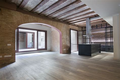 2 bedroom loft 2 bedroom loft for rent with terrace in the raval