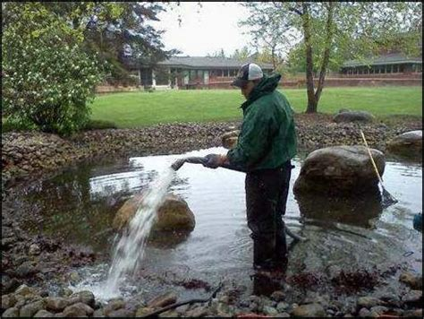 how to clean a pond without draining it your guide to a smooth pond start up clearly aquatics