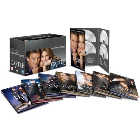 one box set castle season 1 8 complete box set dvd dvd zavvi