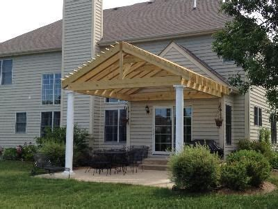 Pergola With Pitched Gable Roof Garden Pinterest Gable Pergola Plans