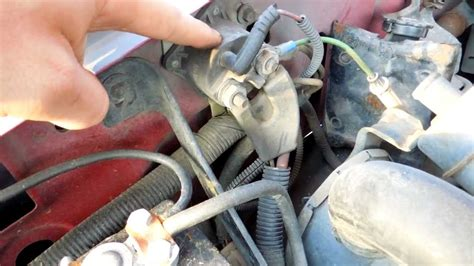 ford   efi starter solenoid relay location