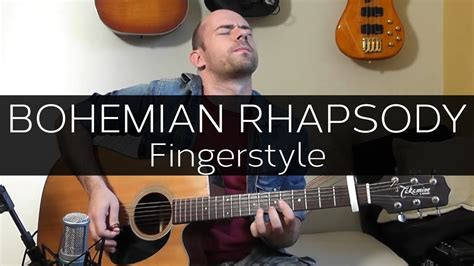 fingerstyle tutorial bohemian rhapsody bohemian rhapsody acoustic guitar fingerstyle cover