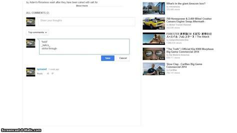 format youtube comments format youtube comments bold italics strike through