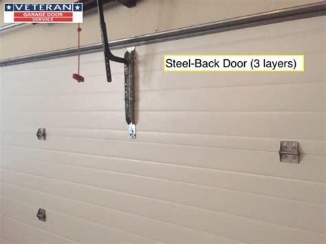 what type of garage door is considered quality