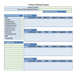 training plan template 17 download free documents in