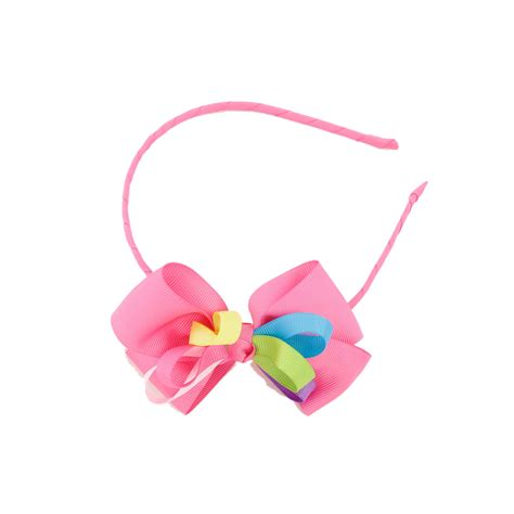 Ribbon Headband rainbows and ribbon headband ebay