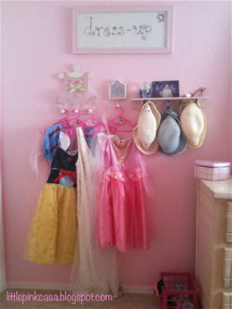 how to dress up a bedroom little pink casa how to make a dress up area for a little