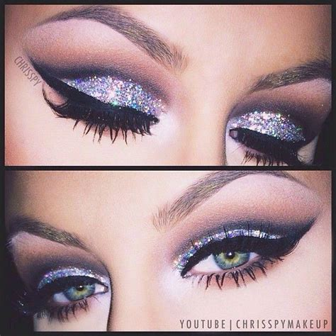 new year makeup new years look