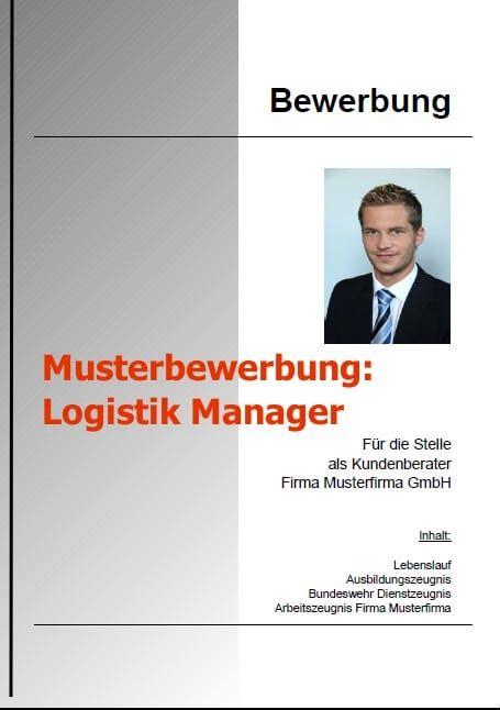 Bewerbungsschreiben Manager bewerbungsschreiben logistik manager bewerbung vorlage