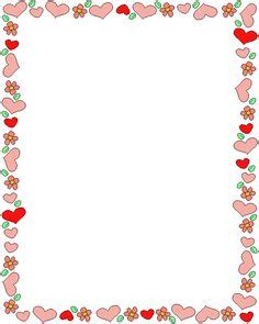 free printable valentine stationary borders 1000 images about borders on pinterest page borders