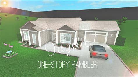 story exterior house designs bloxburg trendecors