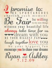 romantic wedding vows exles for her and for him