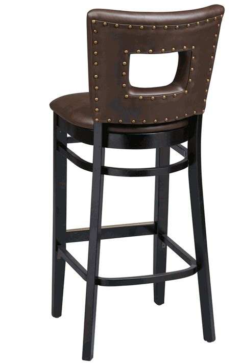 bar stools heights regal seating series 2426 wooden commercial counter height