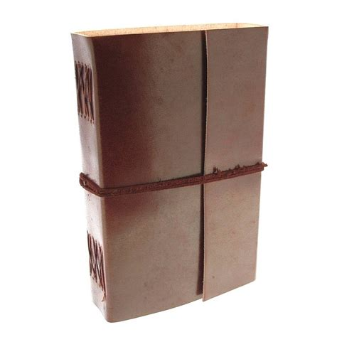 Handmade Leather Journals With Handmade Paper - handmade plain leather journals by paper high