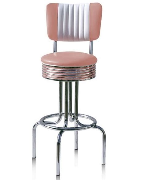 50s Style Bar Stools by American 50s Style Diner Bar Stools Retro Bar Stools