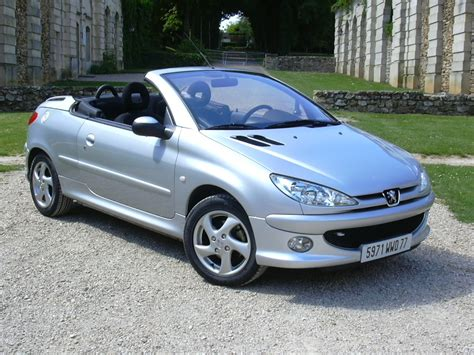 peugeot cabriolet 206 peugeot 206 cc history photos on better parts ltd