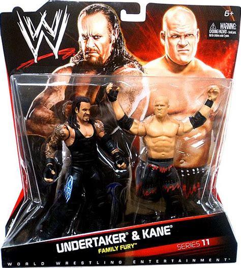 Minifig World Entertainment The Rock Undertaker series 11 undertaker figure 2 pack on