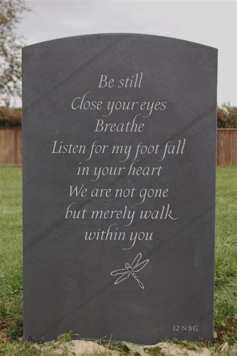 headstone poems