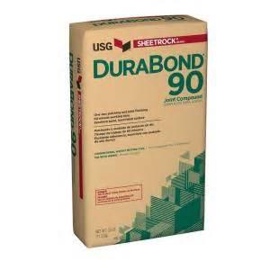 home depot drywall mud sheetrock brand durabond 90 25 lb setting type joint