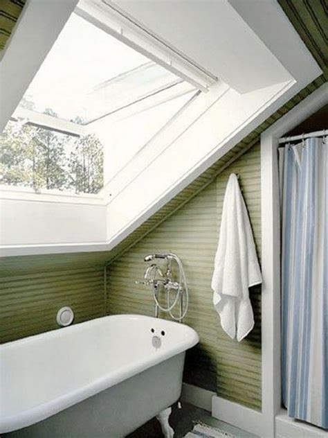 small attic bathroom ideas slanted ceilings for a unique touch in your home s interior decor around the world
