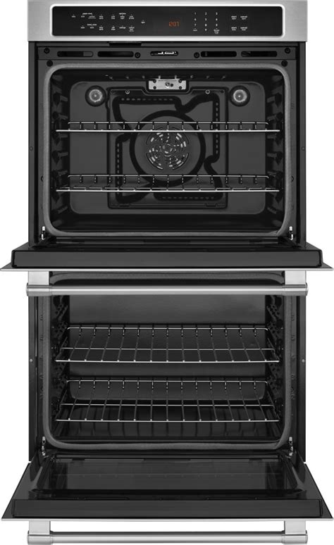 true convection vs fan convection maytag mew9627fz 27 inch double electric wall oven with 8