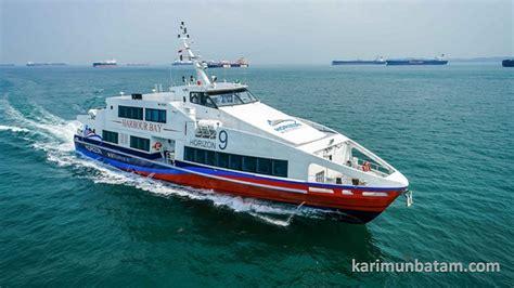 ferry ke batam jadwal kapal ferry horizon dengan rute harbour bay batam