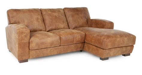 caesar sofa dfs dfs caesar 100 real leather natural aniline right hand