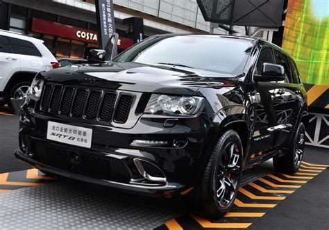 Chrysler Launches Jeep Grand Cherokee SRT8 Black Edition in China autoevolution