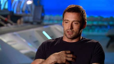 film robot boxing hugh jackman talks new robot boxing movie real steel