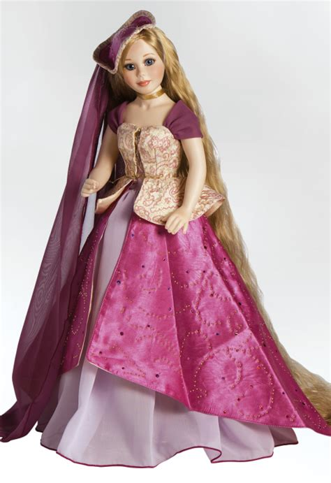 home shopping queen rapunzel rapuzel let down your hair 19 inch porcelain rapunzel doll let your hair down by