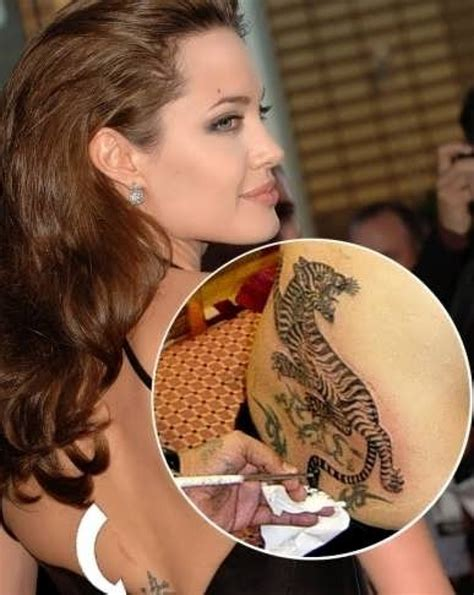 angelina jolie tattoos 30 sexiest tattoos that will inspire you to