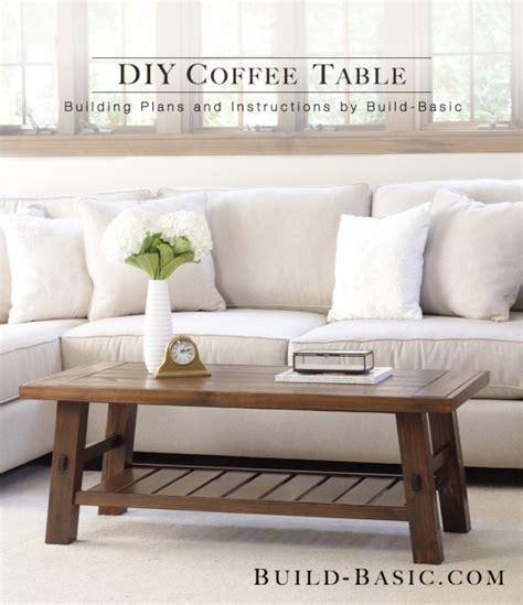 coffee table building plans build a diy coffee table building plans by buildbasic